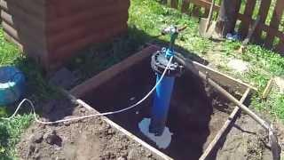 видео Летний вариант обустройства скважины