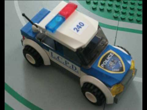 New Lego City Police Car Youtube