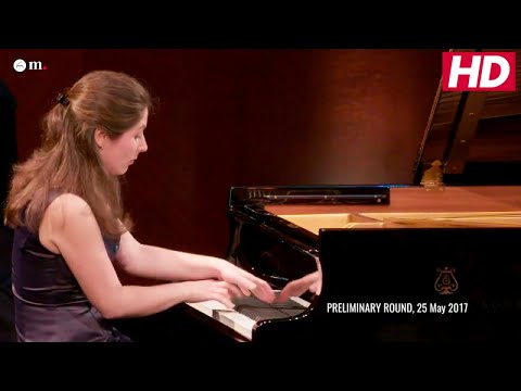 #Cliburn2017 PRELIMINARY ROUND - Alina Bercu - Sergei Prokofiev - Piano Sonata No. 7