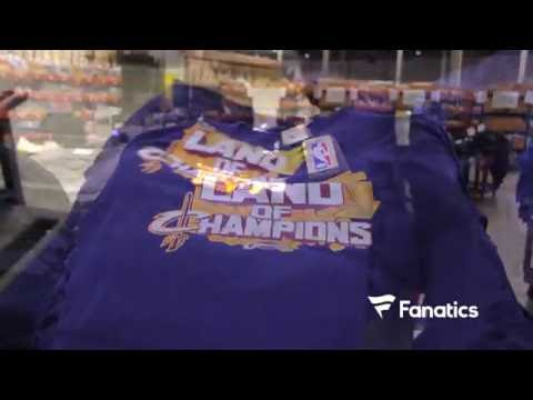 Cleveland Cavaliers Champ shirts for First Ever NBA Championship at Fanatics
