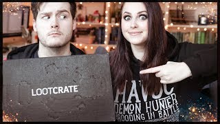 LOOTCRATE: SCAVENGE UNBOXING | Book Roast