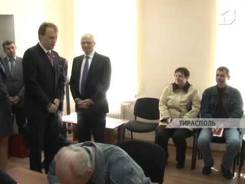 В Тирасполе открыли новый корпус выездного консульского пункта посольства России