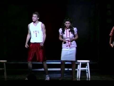 High School Musical on stage Part ten (When There Was Me and You)