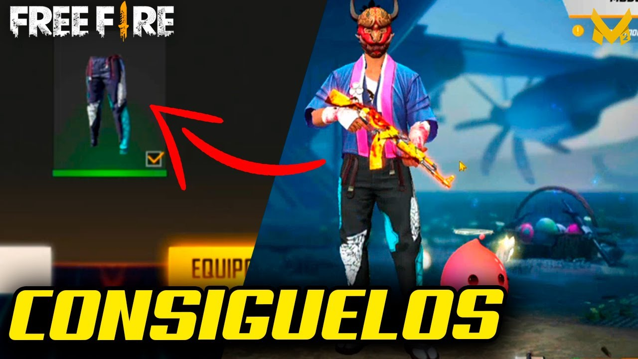 Como Conseguir Pantalones Angelicales Free Fire Youtube