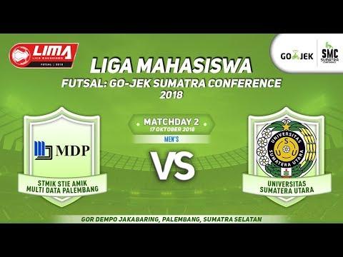MENS MDP VS USU LIMA Futsal : GOJEK SUMATRA CONFERENCE 2018