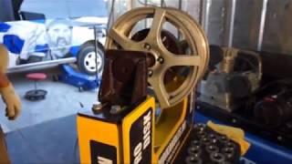 Станок для правки литых дисков авто