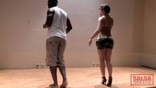TC Dance teach Zouk Love Dance @ Salsa Bootcamp Βόλος 2010