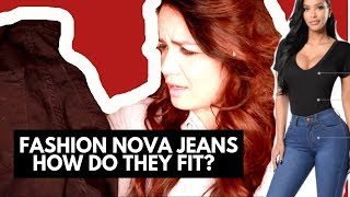 How to Pick the Right Fashion Nova Jeans Size | Gauge Girl Training #fashionnova