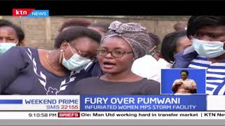 Angry Women MPs storm Pumwani maternity over negligence after mother gave birth outside the hospital