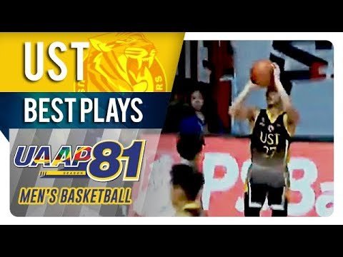 UAAP 81 MB: CJ Cansino drops historic triple double as UST beats UE | UST | Best Plays