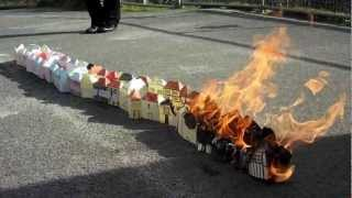Setting the Great Fire of London in school!