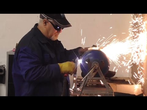 how i built my plasma gas bottle cutter a must see.lol