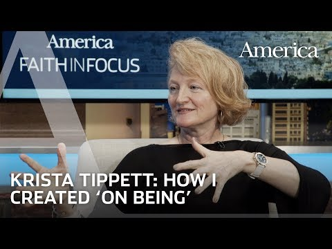 """How divinity school inspired Krista Tippett to create """"On Being""""   Faith in Focus"""