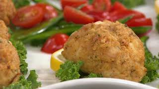 Great Gourmet (10) 4-oz Maryland Seafood Cakes on QVC