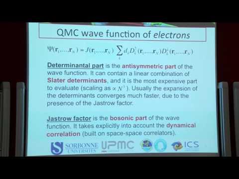 PISACMS- Quantum Monte Carlo - Michele Casula Labex MATISSE