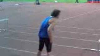 Ivan Ukhov drunk(?) before his last jump at Athletissima 08