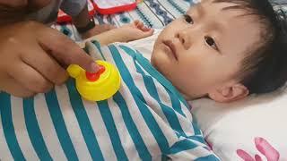 Tin và anh Hai chơi trò bác sĩ khám bệnh cho em bé - Đồ chơi nha sĩ khám răng cho bé