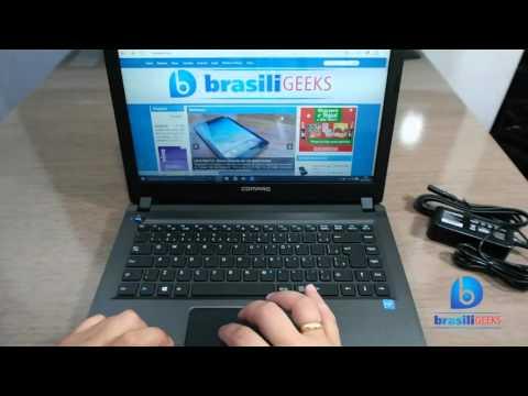 Notebook c/ Windows 10 por menos de 1000 reais? Compaq CQ23