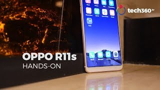 Hands-on with Oppo R11s