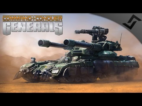 US Carpet Bombers & Overlord Tanks - Command & Conquer: Generals - China Campaign 5&6