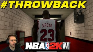 NBA 2K11 Throwback Gameplay w/ Troydan