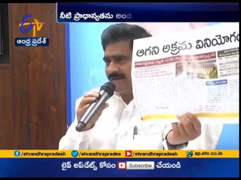 Minister Devineni Uma Slams Jagan over Sakshi's Report on stealing water news