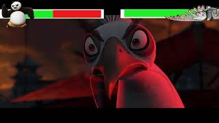 Kung Fu Panda 2 Final Battle with healthbars Part 2