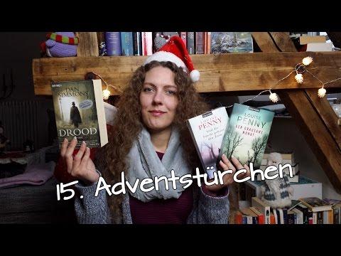 15  Advendstürchen, Buchempfehlungen für den Winter; Dan Simmons, Louise Penny