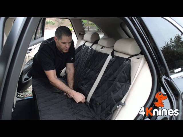 Split Rear Seat Covers For Dogs And Pets - Installation From 4Knines