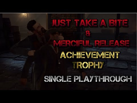 Vampyr - Just Take A Bite & Merciful Release Achievement / Trophy Guide (Single Playthrough)