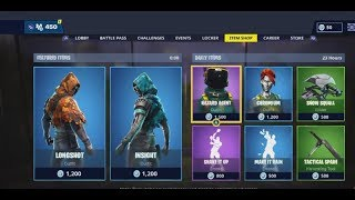 **NEW** NEW LONGSHOT AND INSIGHT SKINS! FORTNITE ITEM SHOP DECEMBER 16TH, 2018