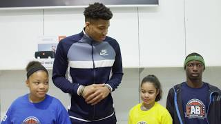 homepage tile video photo for JBL X Giannis Antetokounmpo Surprise Shopping Spree