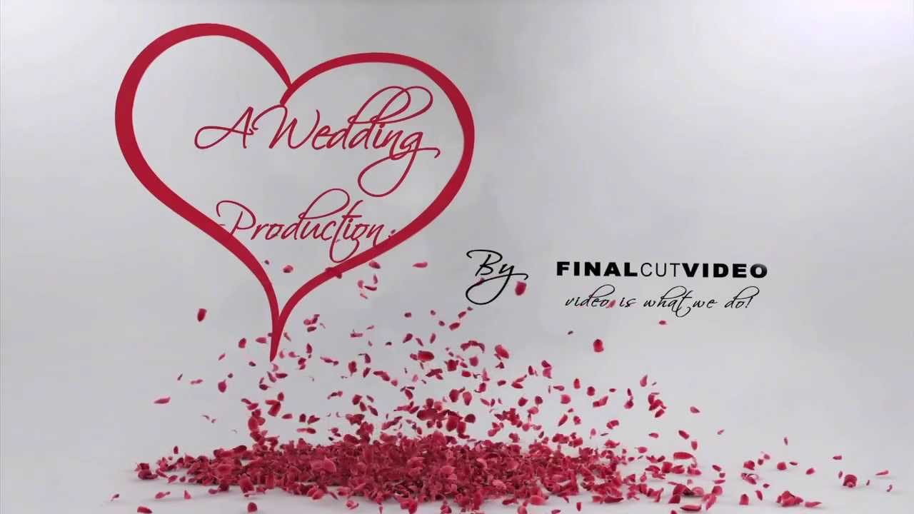 final cut pro wedding templates - after effects wedding intro youtube