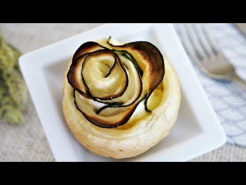 rose-feuilletÉe-salÉe-aux-courgettes