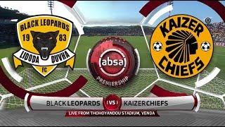 Absa Premiership 201819 Black Leopards vs Kaizer Chiefs