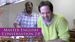 Real English Conversation & Fluency Training - Food & Baking - Master English Conversation 2.0