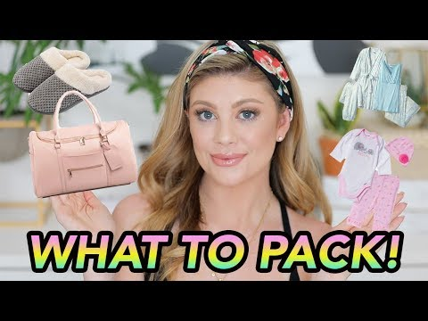 WHAT TO PACK IN YOUR HOSPITAL BAG!   LIFE OF MADDY VLOGS thumbnail
