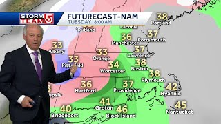 Video: Damp weather to last through Wednesday