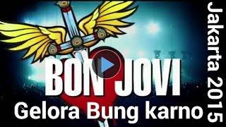 Konser Bon Jovi : gelora bung karno - jakarta , 11 september 2015