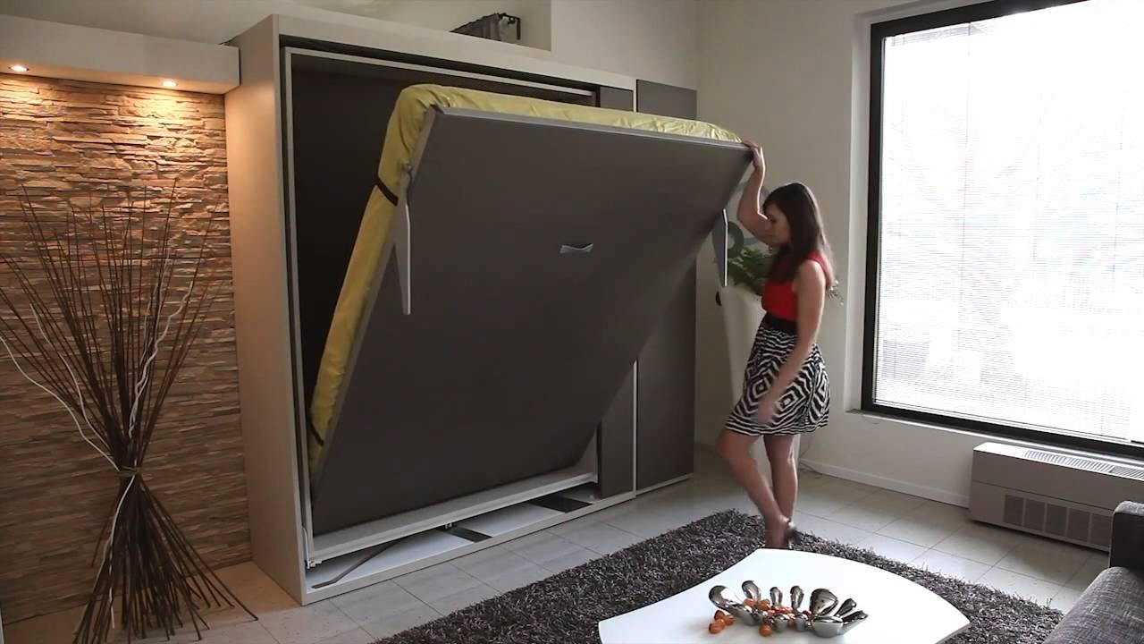mod le m tropolis la maison de l 39 armoire lit youtube. Black Bedroom Furniture Sets. Home Design Ideas