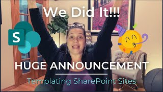 Templating SharePoint Sites - WE DID IT! (Huge announcement & Masterclass Cost REDUCTION)