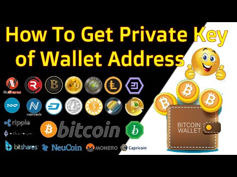 How To Get Private Key Of Wallet Address | Bitcoin Private Key Export