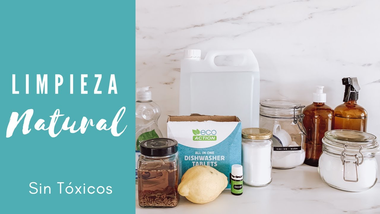 🧽 Los MEJORES productos de LIMPIEZA naturales para un hogar SIN TÓXICOS