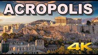 Acropolis in Athens Greece Tour 4K
