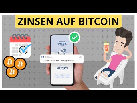 Crypto Lending: Zinsen mit Bitcoin & Co. verdienen! Bitwala Erfahrung