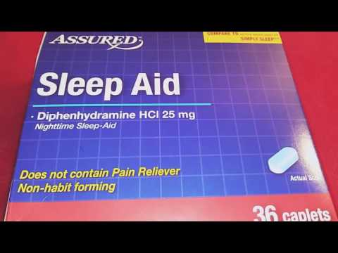 Dollar Tree Review: SLEEP AID