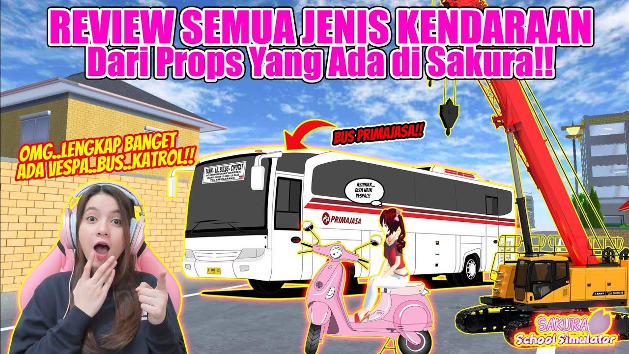 Download INI DIA BERBAGAI JENIS KENDARAAN DI SAKURA YG TERBUAT DARI PROPS!! SAKURA SCHOOL SIMULATOR-PART 450