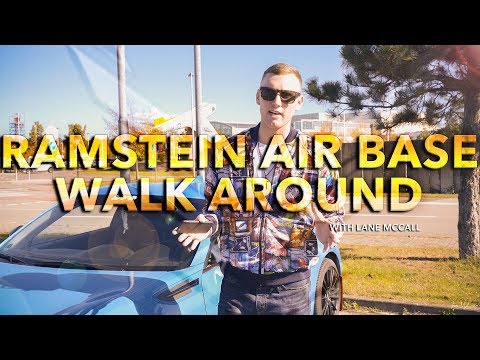 Ramstein Air Base Walk Around [4K]