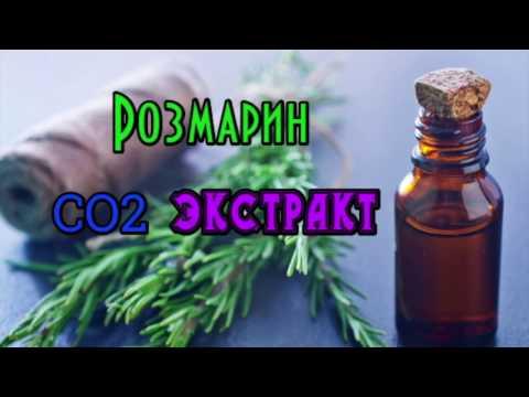 DIY: СО2 экстракт розмарина// CO2 Extrakt In Cosmetiks //Полезные свойства Розмарина