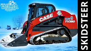 It's RARE and it's RED | Limited Edition CASE TV380 Skid Steer!